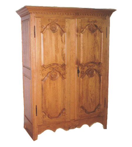 Armoire coquille